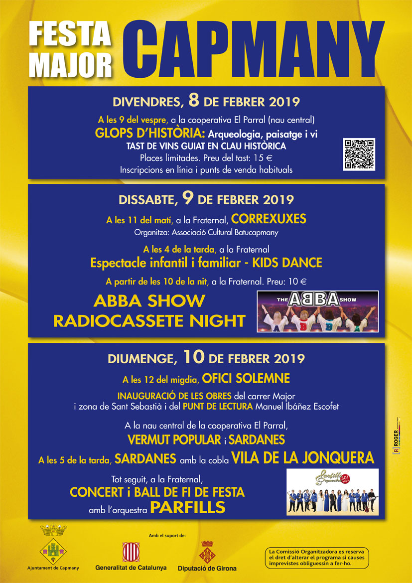 Festa Major de Capmany 2019